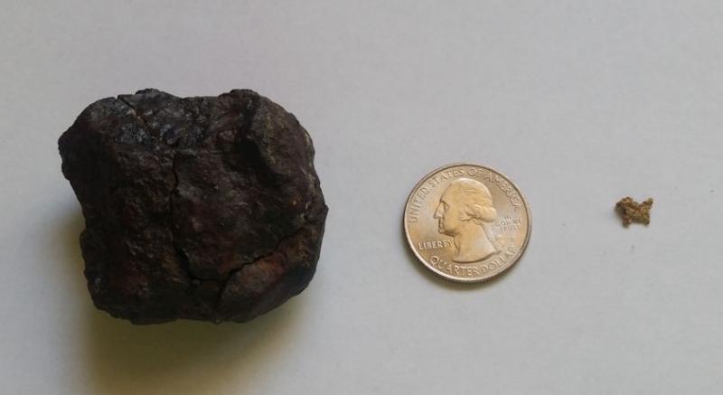 Half Day Hunt For Gold N Meteorite - Detector Prospector ...