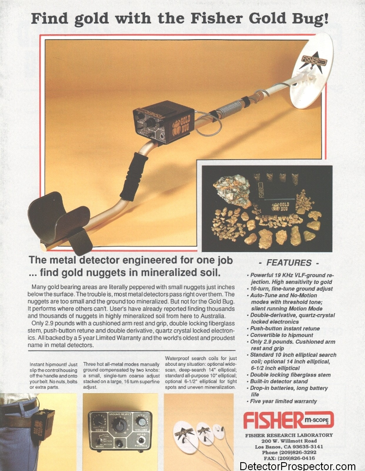 What Separates Gold Nugget Detectors From Other Types Of