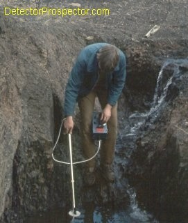 """Steve's First Nugget Hunt 1973 White's Coinmaster 4 with 4"""" Gold Probe Moore Creek, Alaska"""