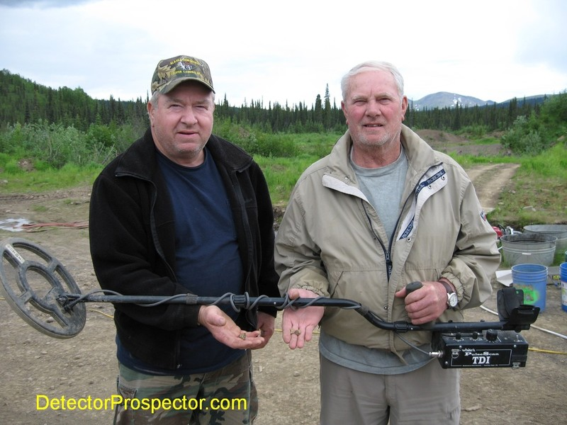 Mike B. & Karl E. of Anchorage, Alaska with Moore Creek TDI finds