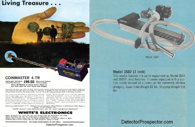 My first metal detector and first gold dredge