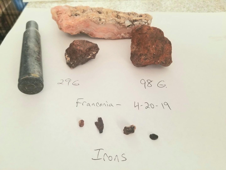Franconia Az Meteorite Hunt - Metal Detecting For ...